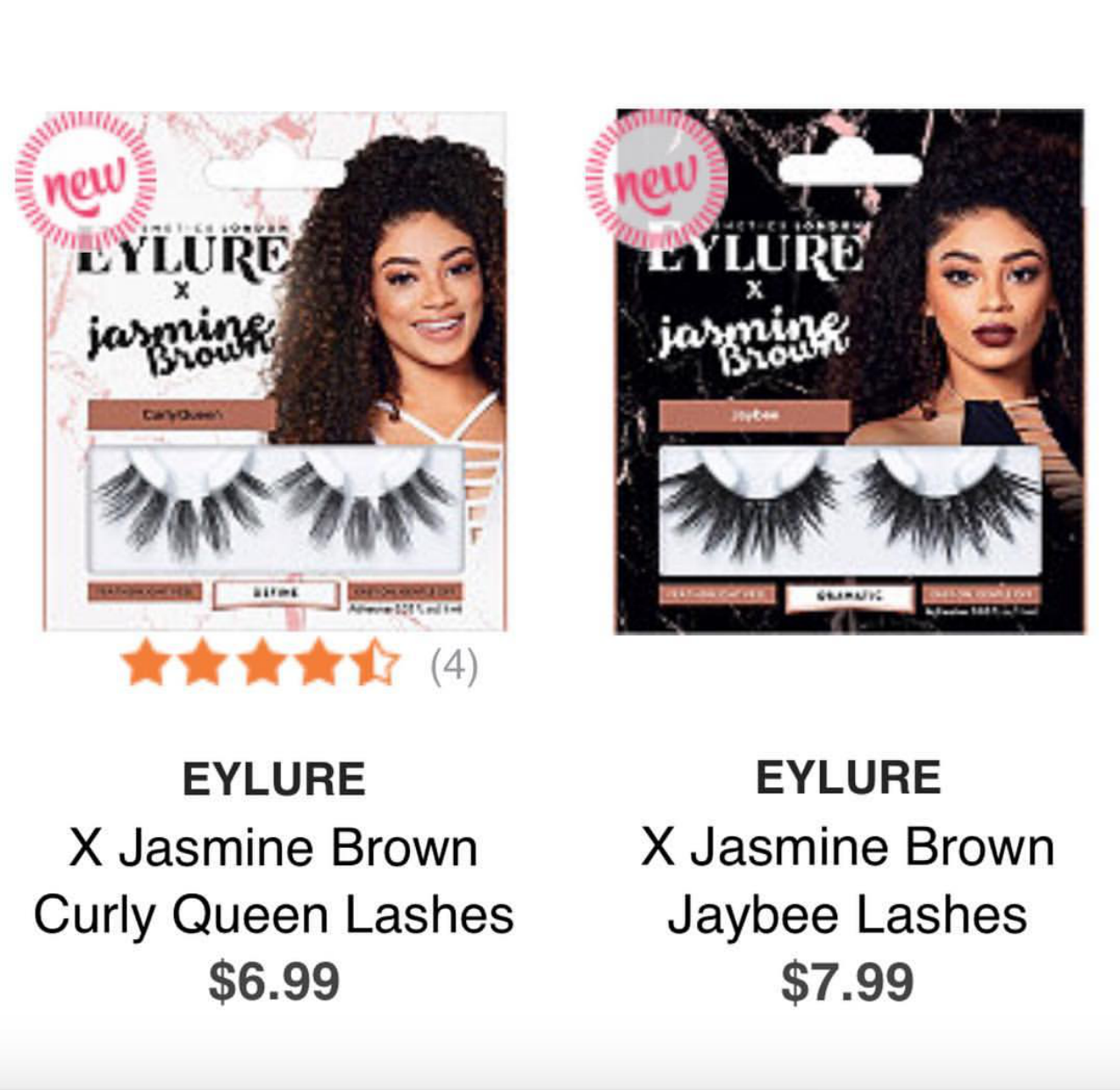 91a2b959629 Eylure Official Lashes X Jasmine Brown Collaboration – Makeup Snitch